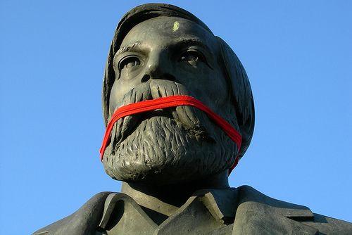 Karl Marx and Friedrich Engels 2 by joaobambu, via Flickr