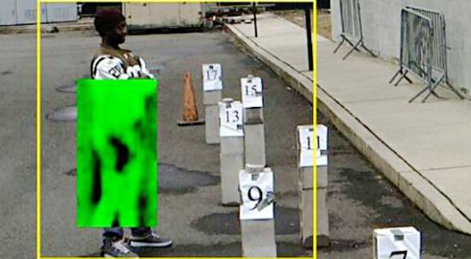 """""""NYPD testing concealed gun-detecting cameras"""" (January 2013)"""