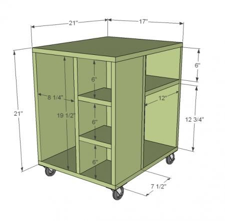 Thinking maybe a series of these for craft room storage.. add possibly doors so not everything is open shelf.