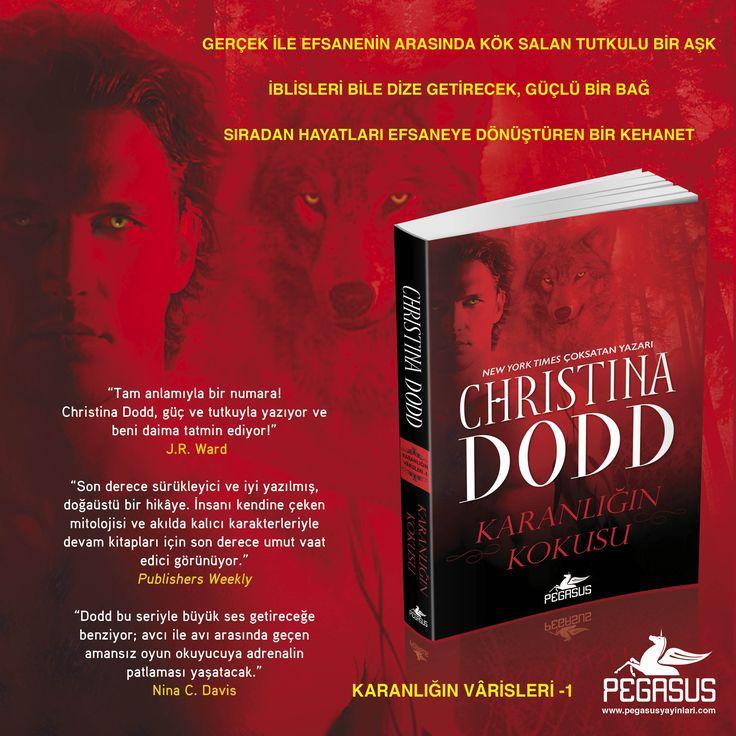 #YENİKİTAP  KARANLIĞIN VÂRİSLERİ -1 KARANLIĞIN KOKUSU / CHRISTINA DODD    Özgün Adı: Scent of Darkness Çeviri: Selin Gül Seçer Tür: Paranormal Romans Sayfa: 336 Satış Tarihi: 27 Ocak Kitabı incelemek ve satın almak için: