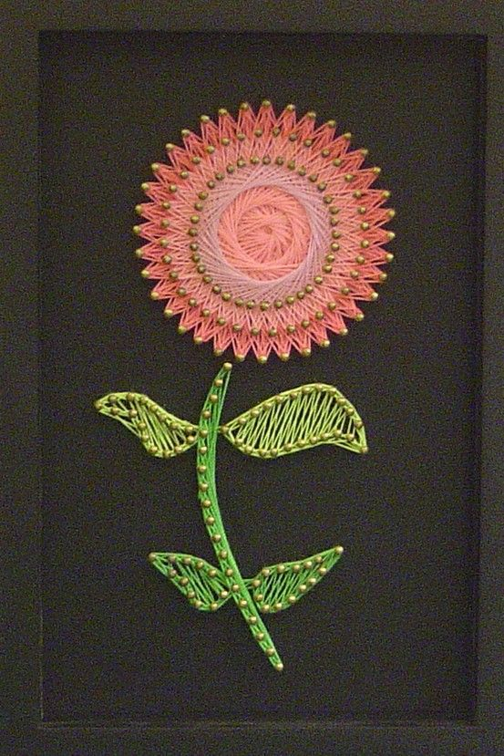 Best 95 crafts string art images on pinterest diy and for String craft patterns