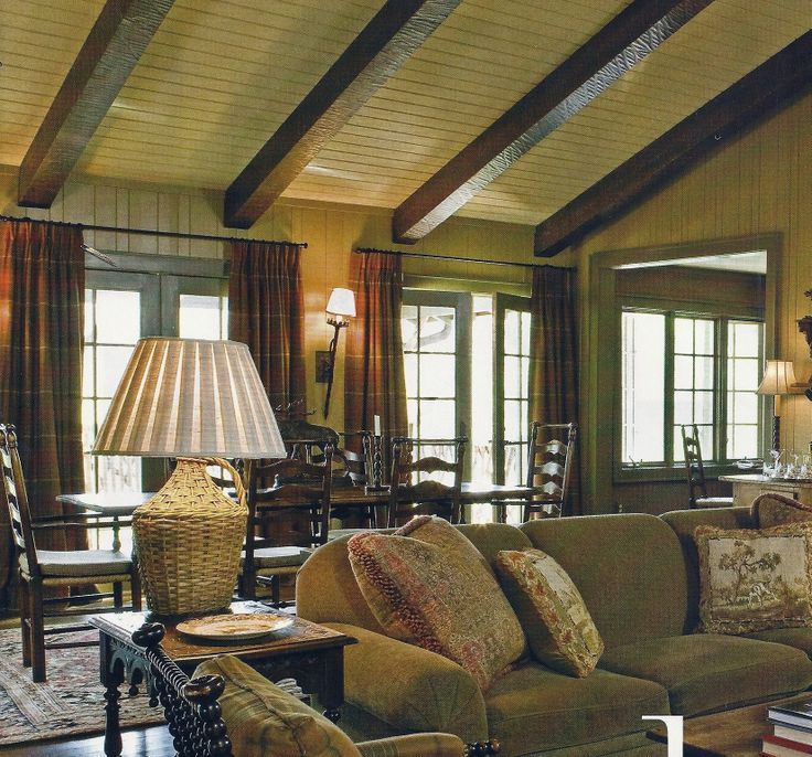 Nice warm & cozy room. From Traditional Home magazine Sep 2008