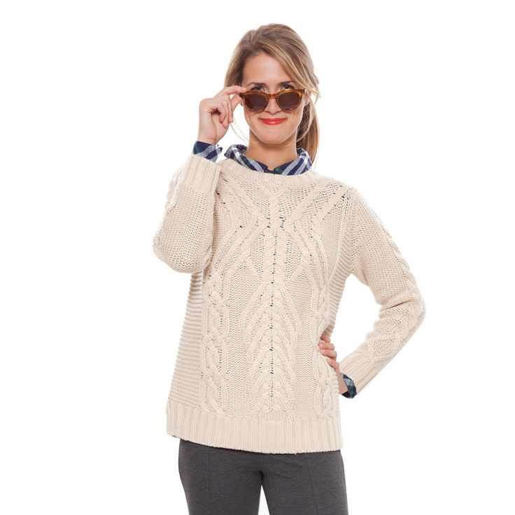 Closet Staples, Cable Knit Sweaters, Cable Knitting, Prep Style, Crew Neck,  Girl Style, Christmas Gift Ideas, Classy Girl, Traveling