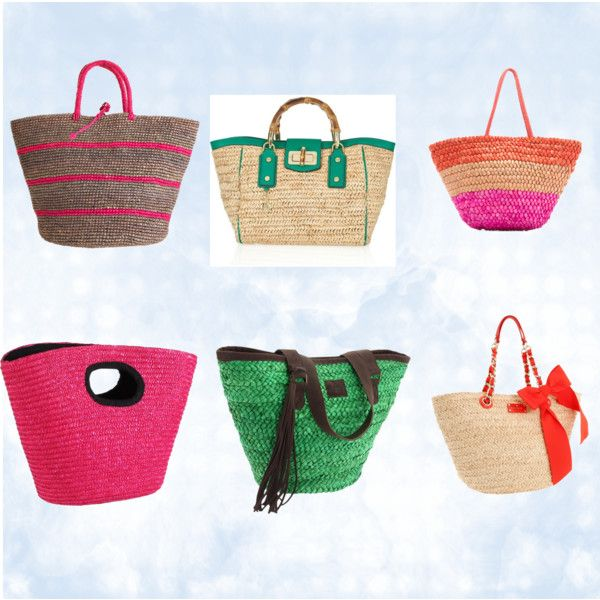 Beach Totes, created by stavipapa on Polyvore