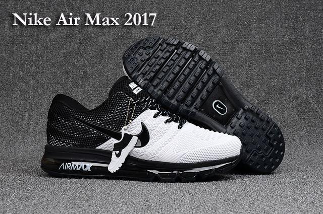 nike air max 2017 blanche et noir