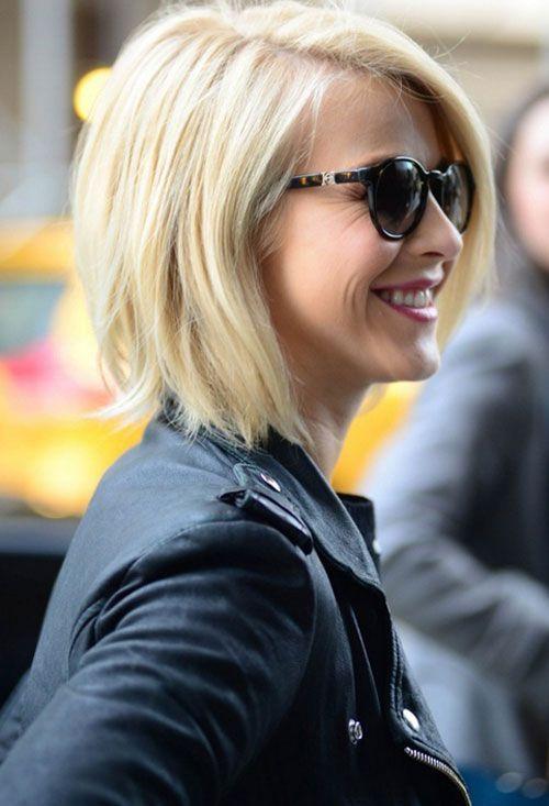 Celebrity Julianne Hough Cute Short Haircut for Women