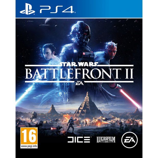 Buy Star Wars Battlefront II PS4 Game at Argos.co.uk - Your Online Shop for PS4 games, PS4, Video games and consoles, Technology.