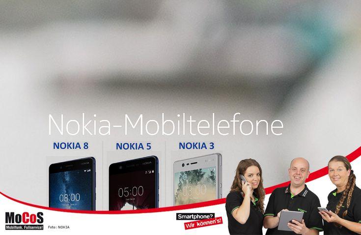 """NOKIA ist zurück! ...und überzeugt mit durchdachten Ausstattungsoptionen und übersichtlichen Produktbezeichnungen! Egal ob NOKIA 3, NOKIA 5 oder NOKIA 8 – allen gemeinsam ist die Verwendung des fast unveränderten Android™ Betriebssystem. Sicherheitsupdates sind schnell und automatisch einspielbar. Die Bedienoberfläche wirkt aufgeräumt und ohne Überfrachtung dank """"Android™ 7."""