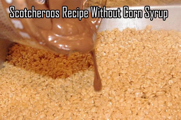 New Scotcheroos Recipe Without Corn Syrup http://www.scotcharoos.net/scotcheroos-recipe-without-corn-syrup/ #Scotcheroos