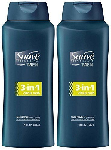 Suave Men 3-in-1 Shampoo + Conditioner + Body Wash - Citrus Rush - 28 oz - 2 pk  //Price: $ & FREE Shipping //     #hair #curles #style #haircare #shampoo #makeup #elixir