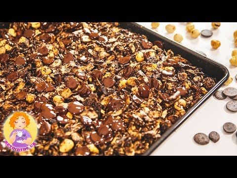 KETO Granola Chocolate Recipe 🍫 Low Carb Breakfast Cereal Ideas – YouTube