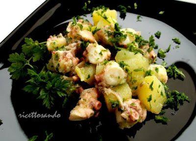 Insalata di polpo #ricetta di @luisellablog