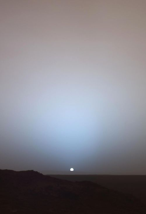 http://gallifreyburning.tumblr.com/ - A reminder that there is an image of the sunset seen from Mars.  Take a moment to realize that this is the result of a robotic motor vehicle travelling millions of kilometres of space, successfully landing on the surface of another planet and communicating with Earth from there.  Captured by NASA's Spirit rover in 2006.