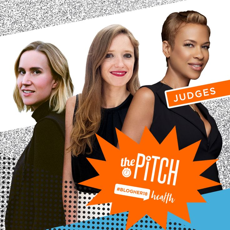 """Using Her Power for Good: Top Entrepreneurs Pay it Forward Judging """"The Pitch"""" at #BlogHer18 Health"""