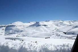 Snow! Lesotho!
