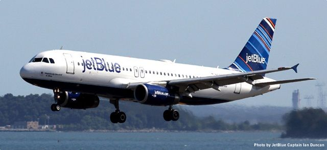 08/27/2017 - An airliner was yesterday forced to divert to Bermuda after smoke was spotted coming from the rear of the plane.  The JetBlue flight bound for St Lucia with more than 200 passengers on board made an emergency landing at the island's airport.