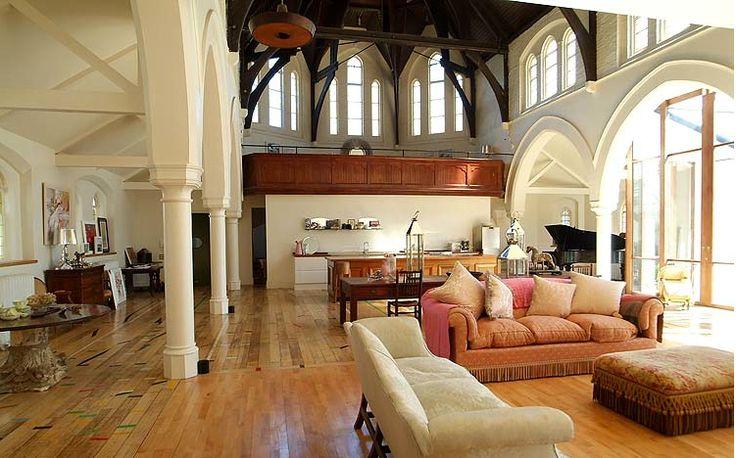 Plush Palate: Converted Church: Beautiful Home