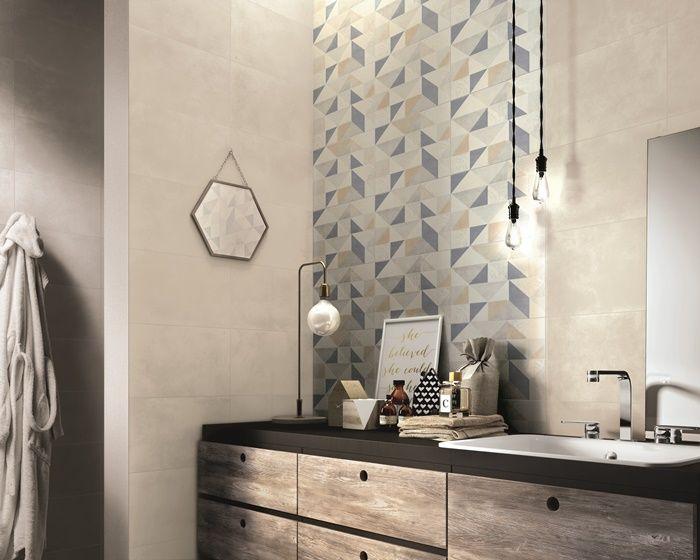 Piastrelle decorate per incorniciare la pareti del bagno? Idee da copiareBagni dal mondo | Un blog sulla cultura dell'arredo bagno