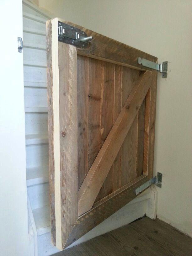 Een traphekje van Friday Design maakt van een noodzakelijk item iets moois. Een echt 'hebbedingetje'. Op elke trap op maat te maken!