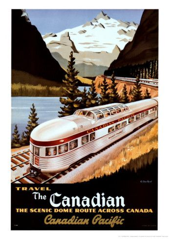 Canadian Pacific Train Prints by Roger Couillard at AllPosters.com
