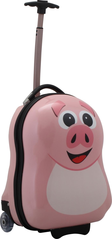 pink cutie :) http://www.kofferprofi.de/Reisegepaeck/Kinderkoffer/The-Cuties-and-Pals-Schweinchen-Trolley.html