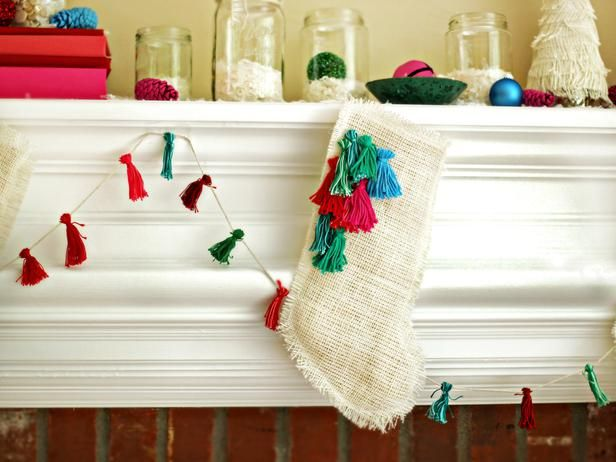 How to Make Burlap Christmas Stockings >> http://www.diynetwork.com/decorating/how-to-make-a-burlap-christmas-stocking/pictures/index.html?soc=pinterest