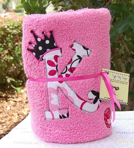 Personalized applique beach towel toallas bordadas
