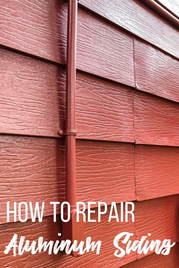 How To Repair Aluminum Siding Home Repair Painting Aluminum Siding Aluminum Sheds