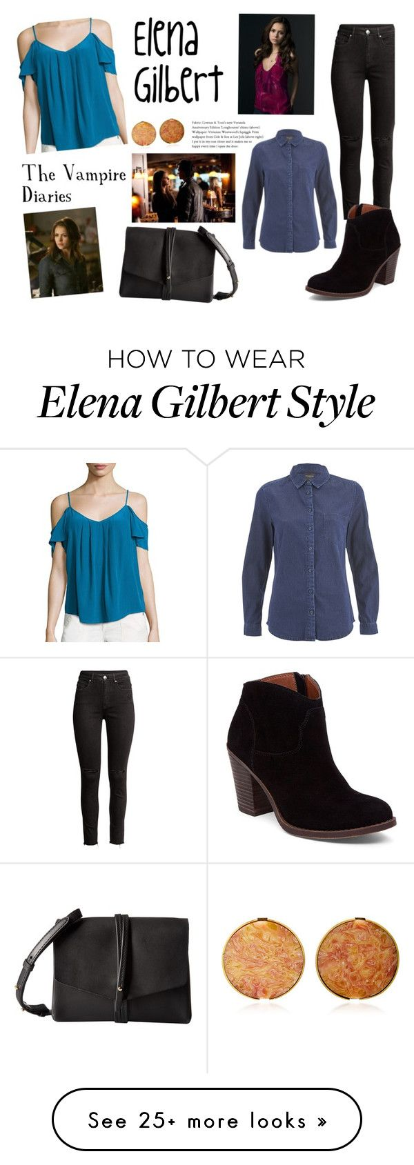 """""""Elena Gilbert style"""" by spencer-hastings-5 on Polyvore featuring Joie, Vince Camuto, Lucky Brand, SELECTED and E L L E R Y"""