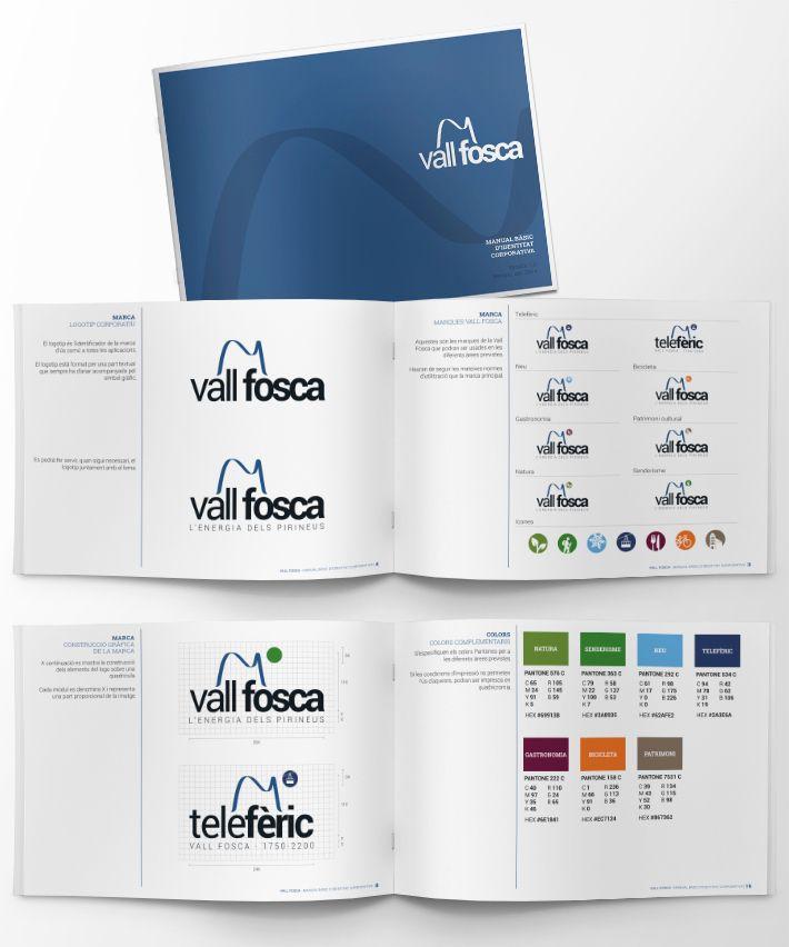 Identitat de la marca Vall Fosca