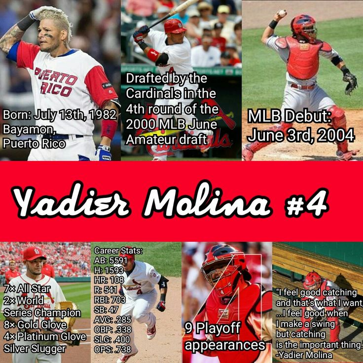Why Yadier Molina should continue his career as a St. Louis Cardinal. (Career Stats)