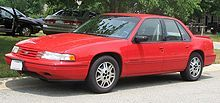 Chevrolet Lumina - 1991-1994 euro 3.4 sedan 1gen