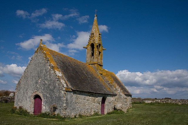 Old chapel in Brittany by Christian Wilt, via Flickr