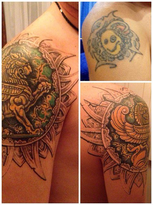 Тату Cover-up или татуировки До и После (285 фото ...