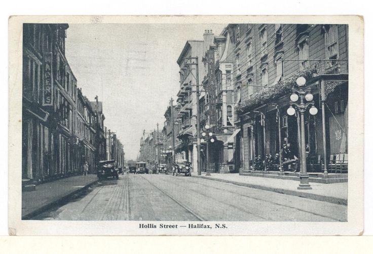 Postcard Hollis Street Halifax Nova Scotia BY Novelty MFG AMP ART CO   eBay
