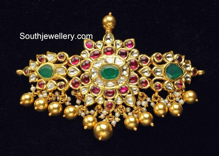 Indian jewellery-kundan choker