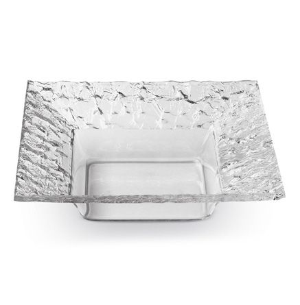 """Rosseto - 10"""" Clear Acrylic Square Serving Platter"""