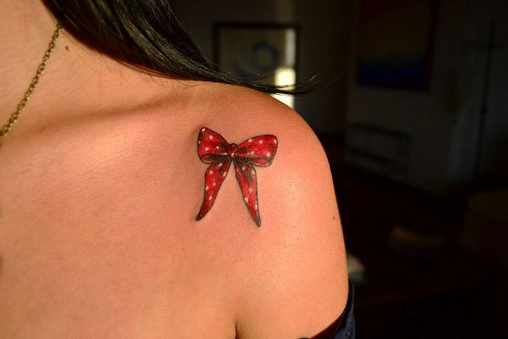 bow tattoo @Alexandra Baggerly | So FETCH | Pinterest ...