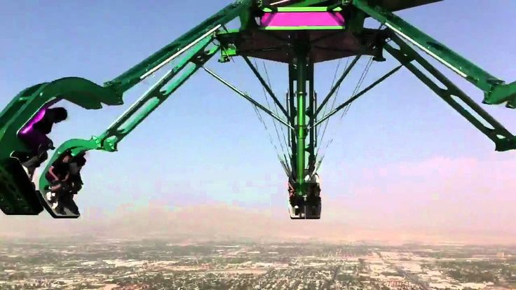 Insanity Ride - Stratosphere Las Vegas Check out the world's 3rd most scariest ride on Planet