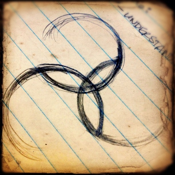 #triskele #sketch #iphonography #webstagram. Follow me on @instagram, or view more at http://instagrid.me/dzinermom/
