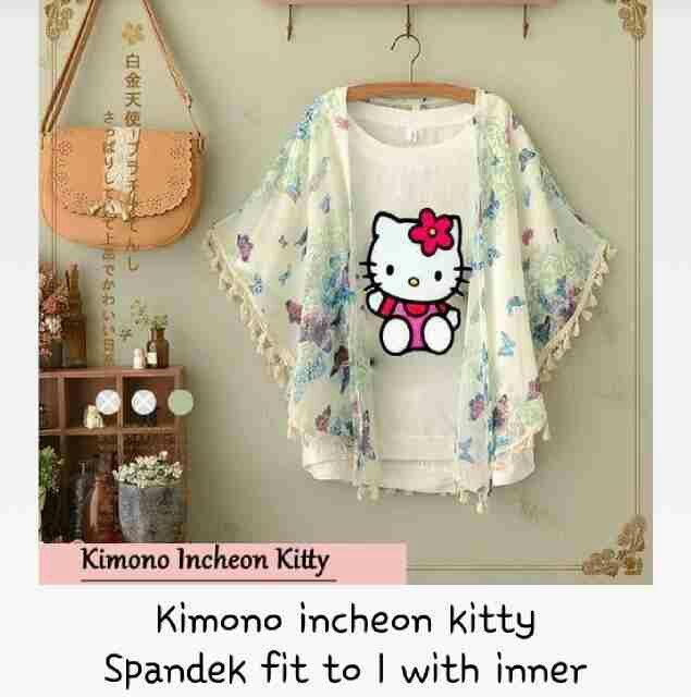 #kimono #incheon #hellokitty @ 80.000
