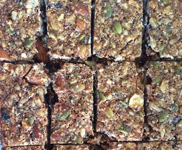 Recipe Muesli/Breakfast bars (Grain, Dairy and Refined Sugar Free) by melrob06…