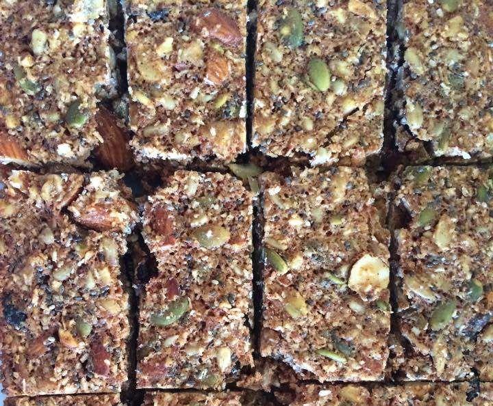 Recipe Muesli/Breakfast bars (Grain, Dairy and Refined Sugar Free) by melrob06…