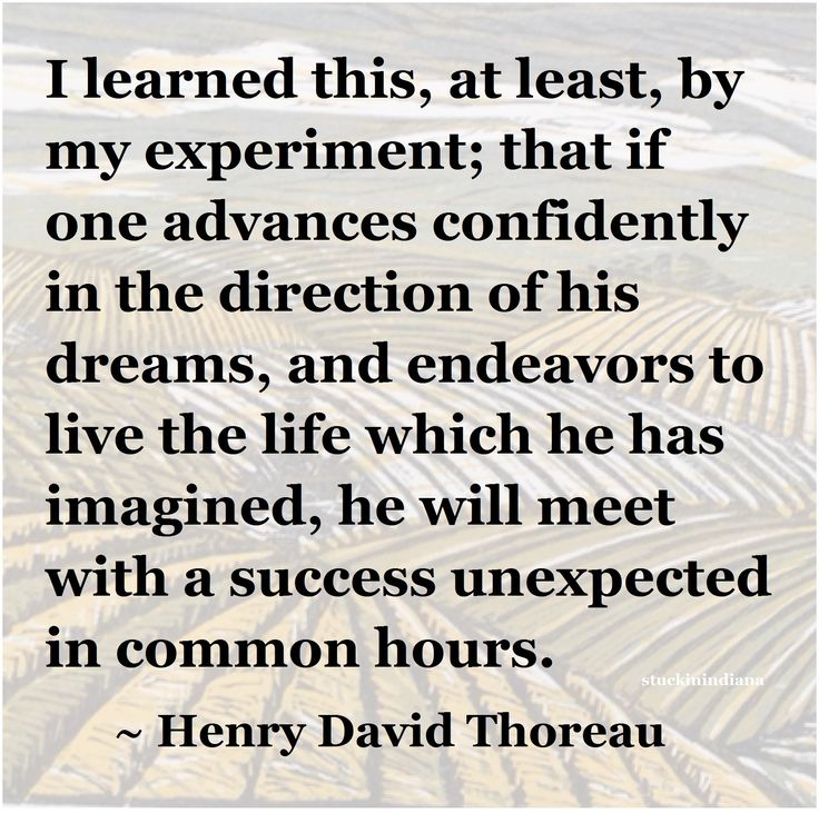 how to live life as shown in the walden experiment by henry david thoreau The transformation of individual experience into universal myth  of henry david thoreau and his deliberate and solitary experiment on the shores of walden pond11.