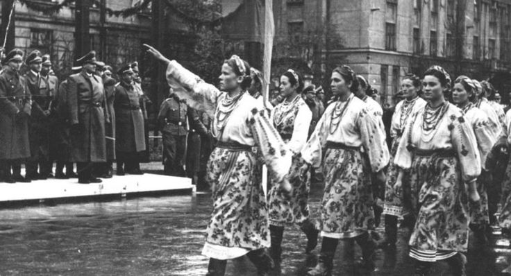 The Forgotten Ukrainian Nazi Collaborators Helping Germany Invade Poland