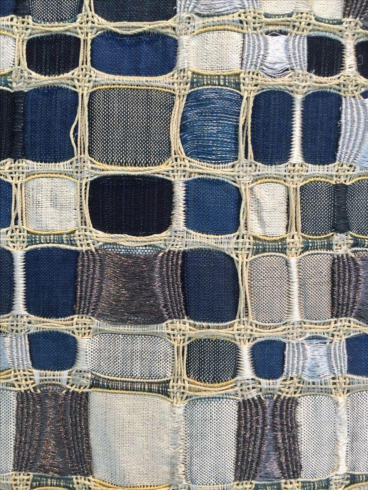Davila And Portillo   Detail Of Weaving Seen At SPACE Gallery, Savannah, GA