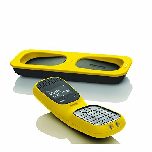 Magicbox Colombo Single DECT Cordless Telephone with Answering Machine - Yellow £54.99 amazon
