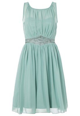 Sukienka koktajlowa - sage