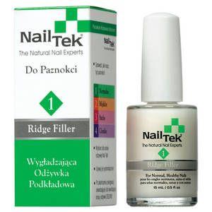 Nail Tek 1 Ridge Filler Wygładzająca odżywka podkładowa do paznokci - Nail Tek