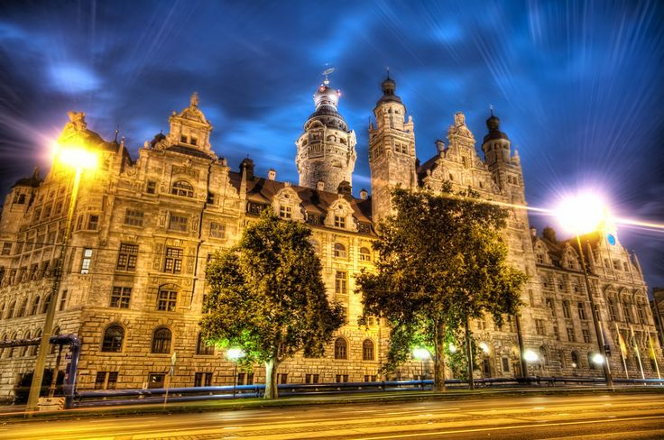 Leipzig at night, I could not find this place for anything because i didn't know how to pronounce it, for those curious its LIPE-ZEEG  from #treyratcliff at www.StuckInCustom... - all images Creative Commons Noncommercial